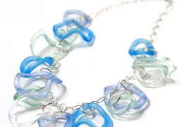ruffle-recycled-glass-necklace
